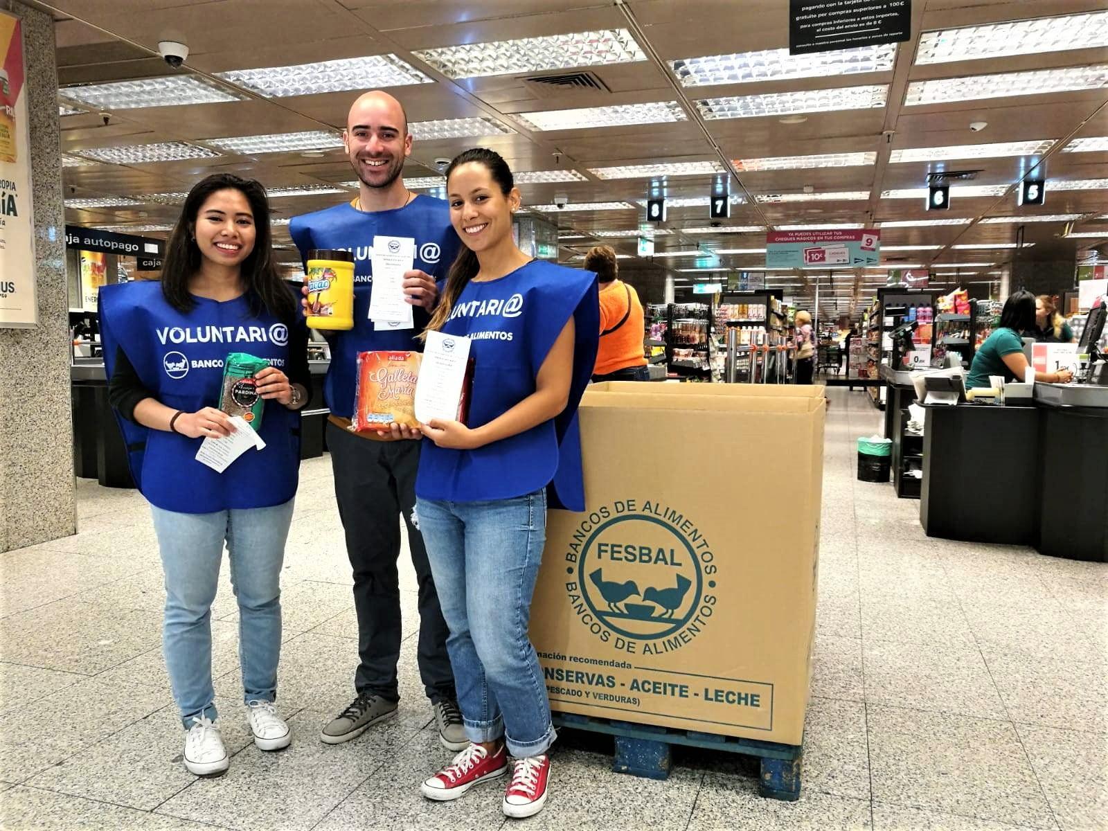 Voluntariado - La Gran Recogida del Banco de Alimentos