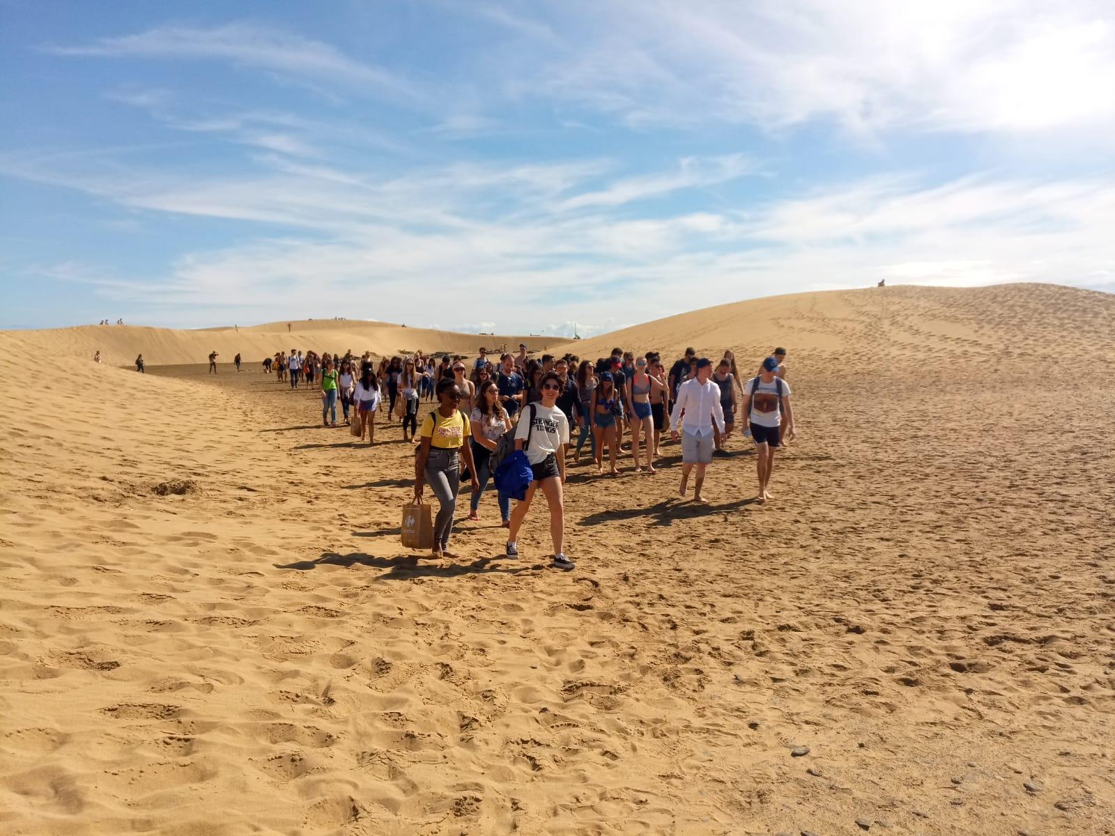 Turismo Responsable - Bienvenida Erasmus ULPGC